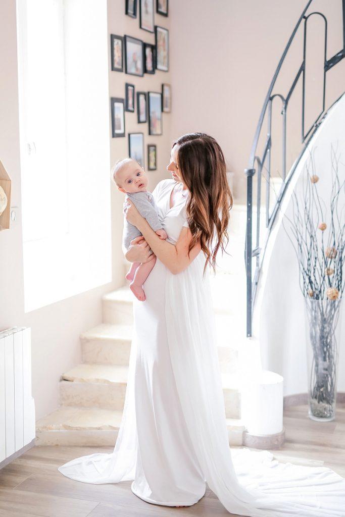 allaitement bebe grossesse