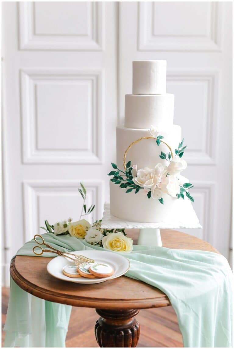 wedding cake vegetal