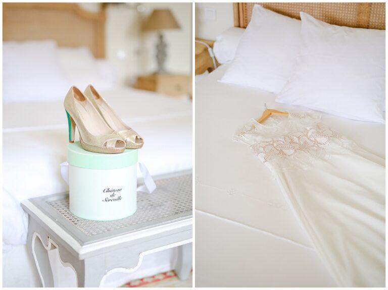 chaussures de mariée paillettes