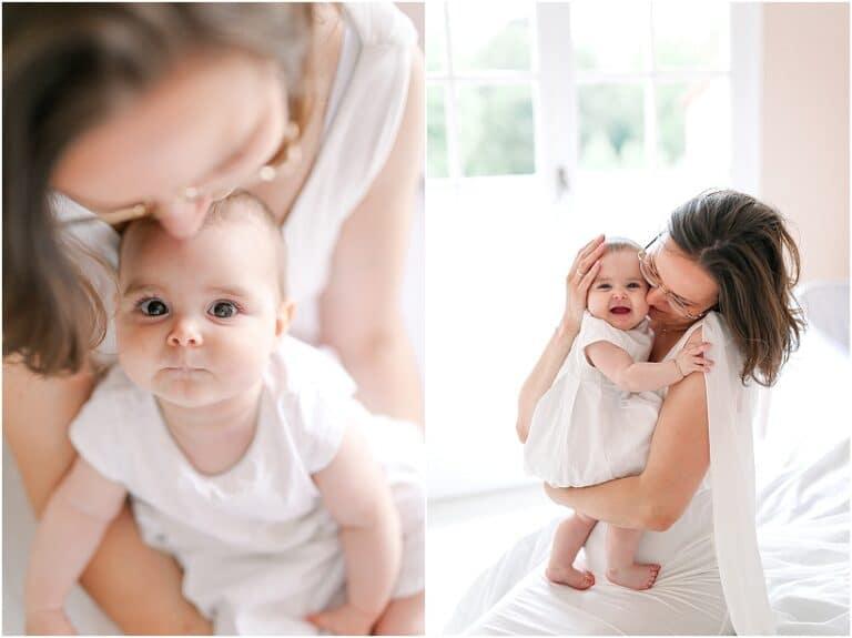 shooting avec un bébé