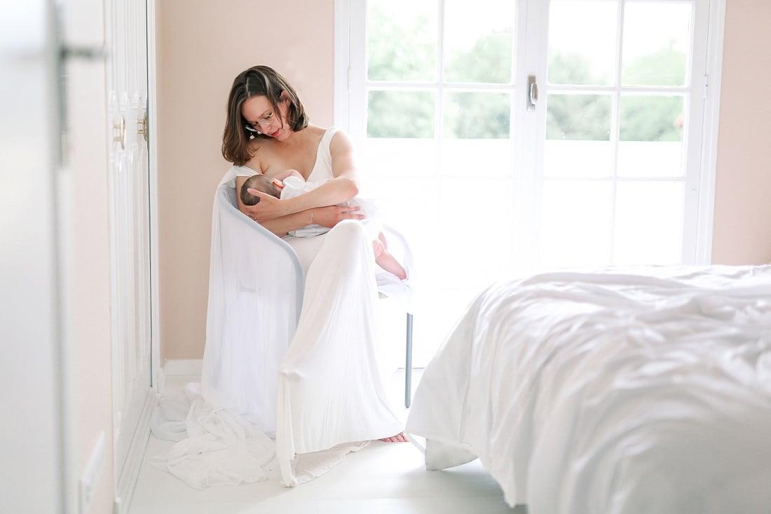 Séance Bébé Cocooning à la maison