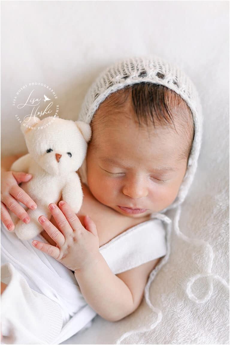 portrait de nouveau-né à moret