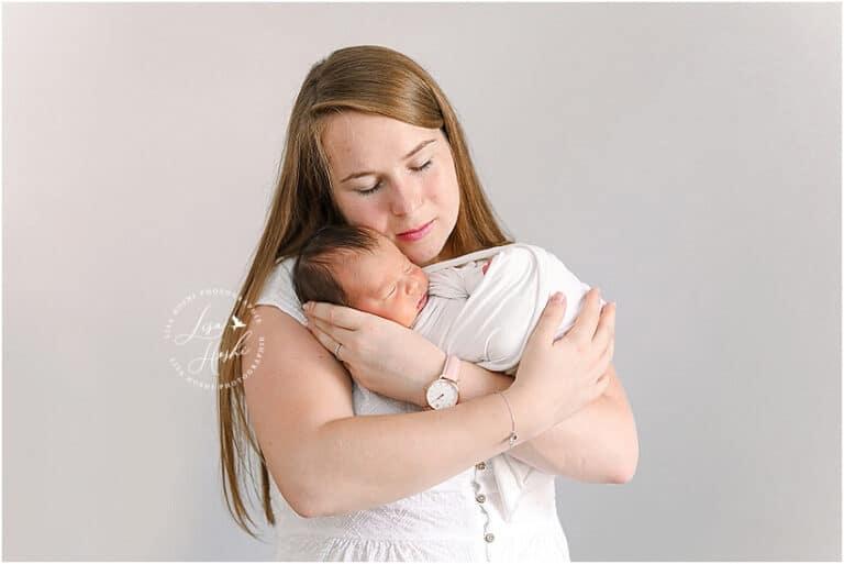 portrait maman bebe à moret