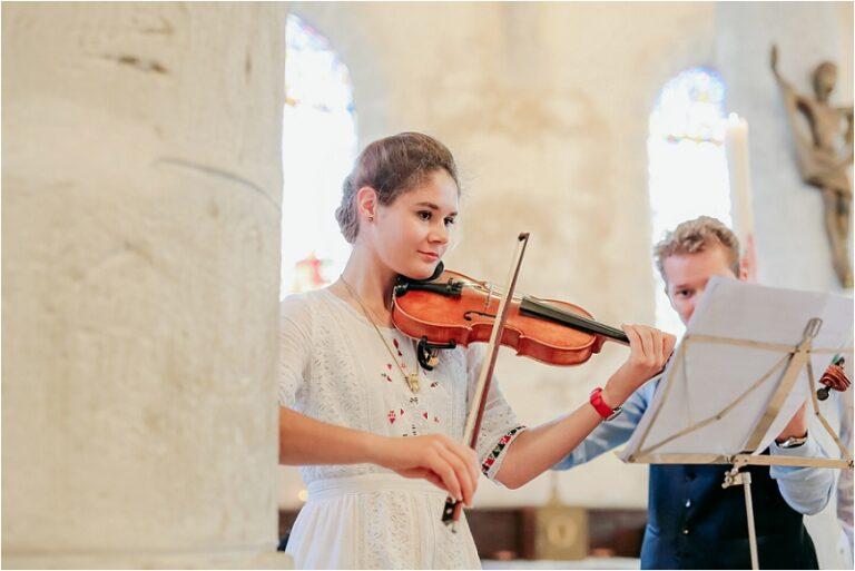 orchestre violon mariage eglise