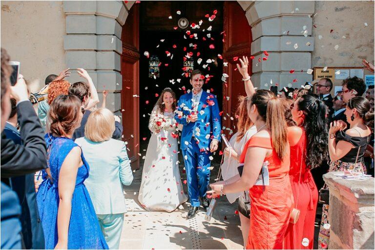 sortie eglise avon mariage