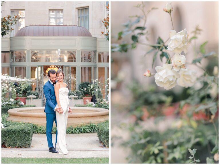 photographe au ritz à paris mariage