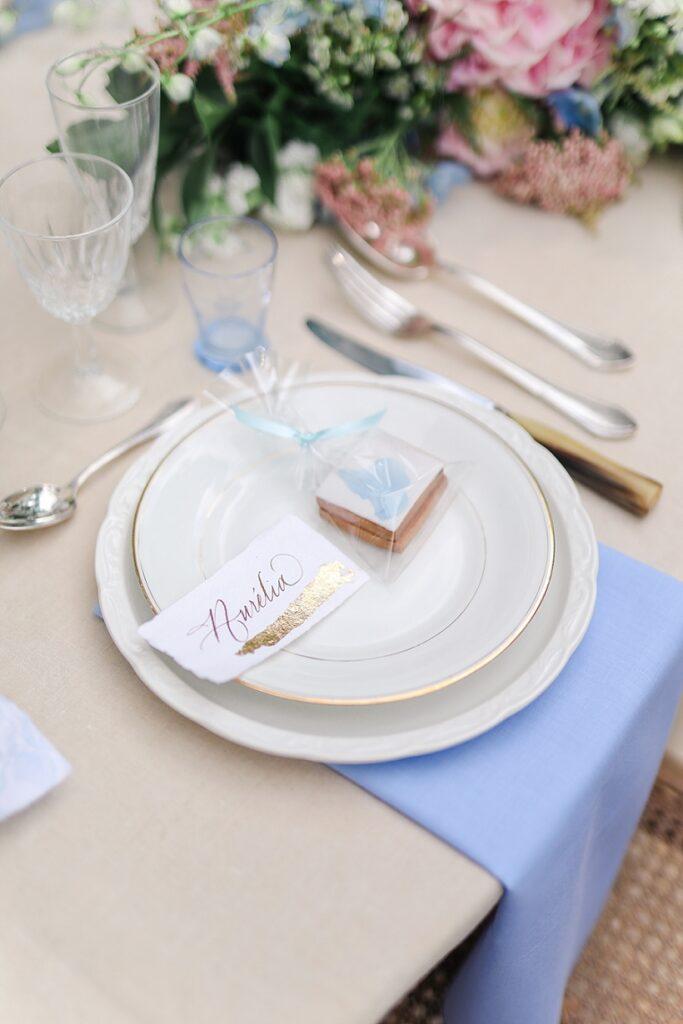 décor de table de mariage